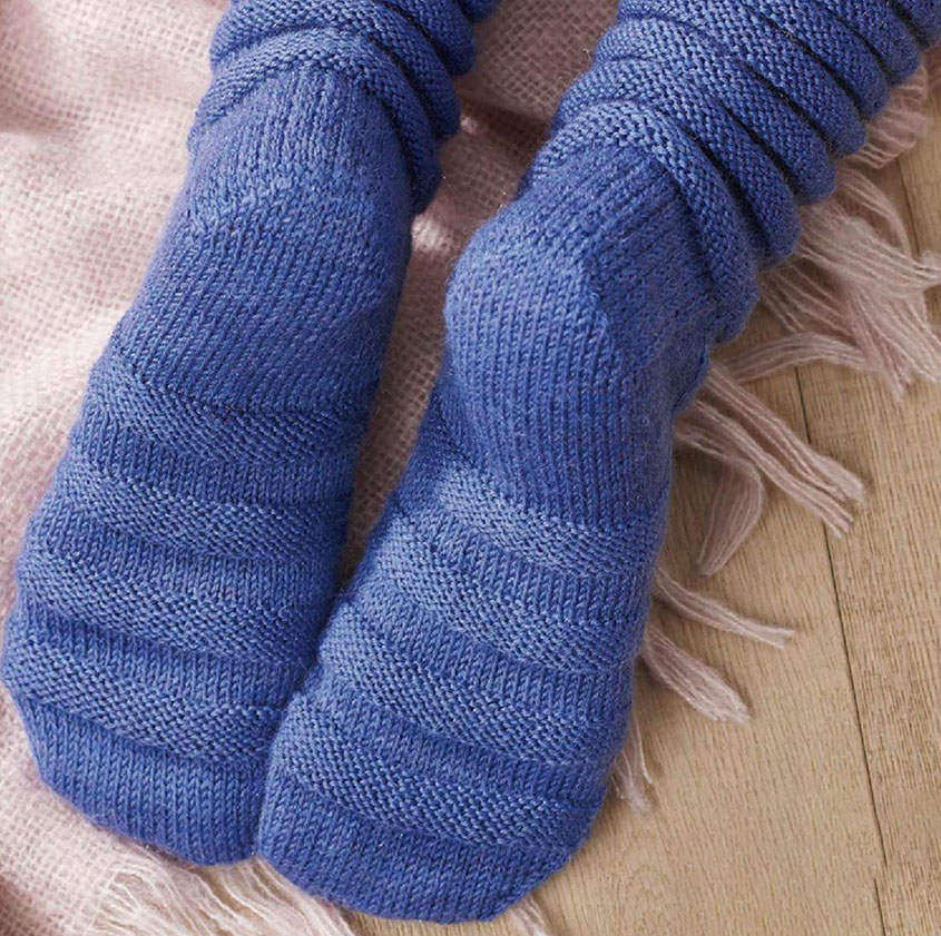 Slouch Socks Knitting Pattern