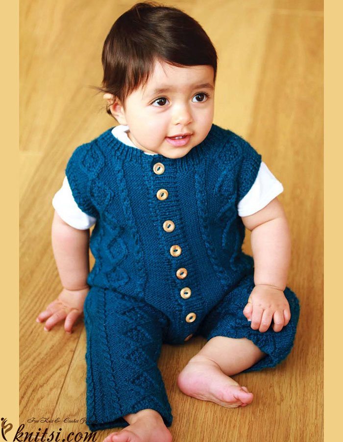 77ab7d1c6 Baby dungarees knitting pattern