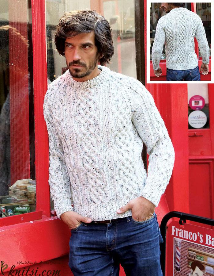 494dca9494cd Classic raglan sweater knitting pattern