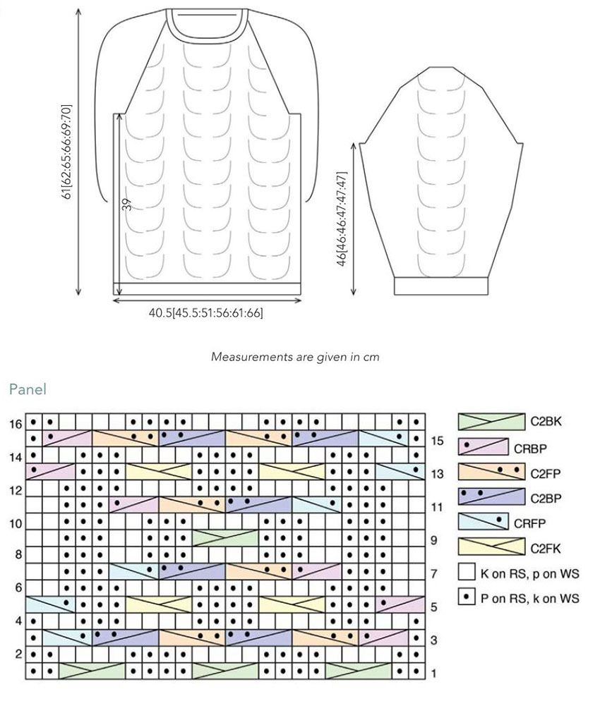 Knitting Joining Raglan Seams : Classic raglan sweater knitting pattern