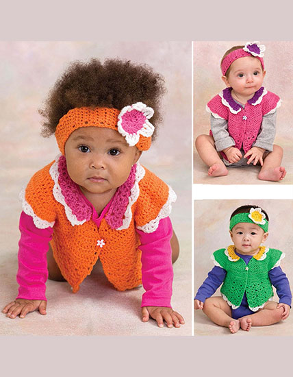 Shrug & headband crochet patterns