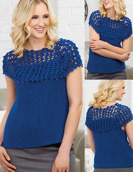 Free Tops Crochet Patterns