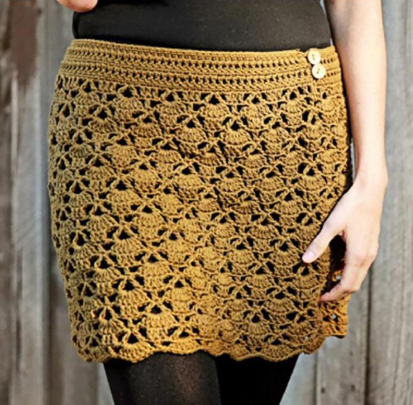 Mini Skirt Crochet Pattern