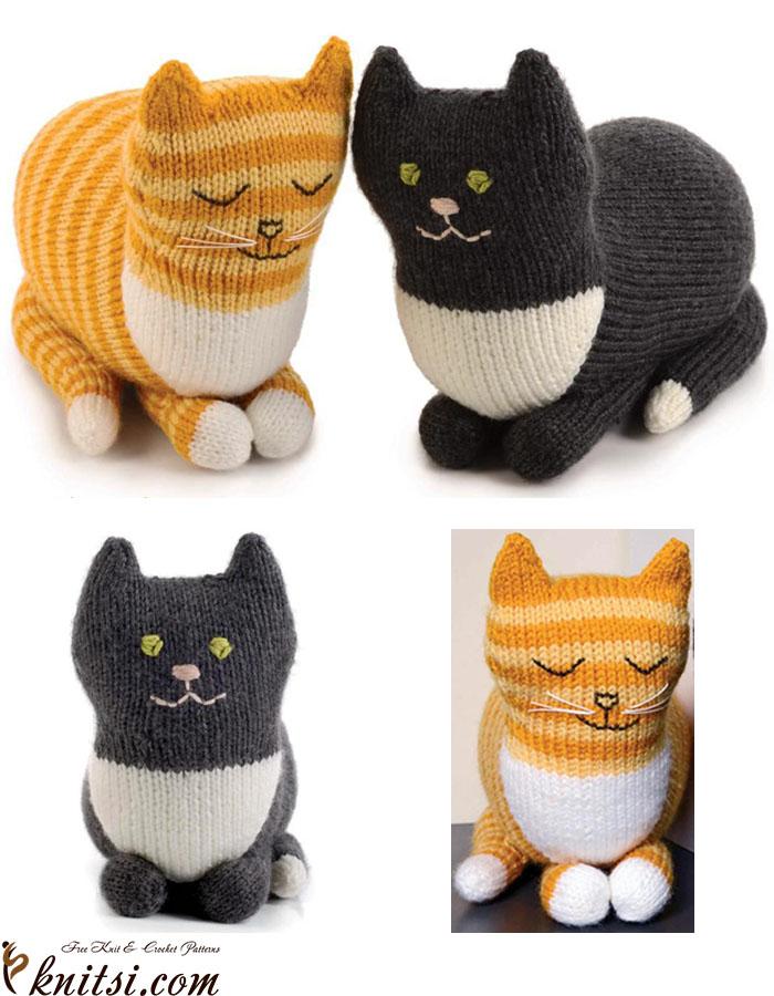 Cat Knitting Pattern Free