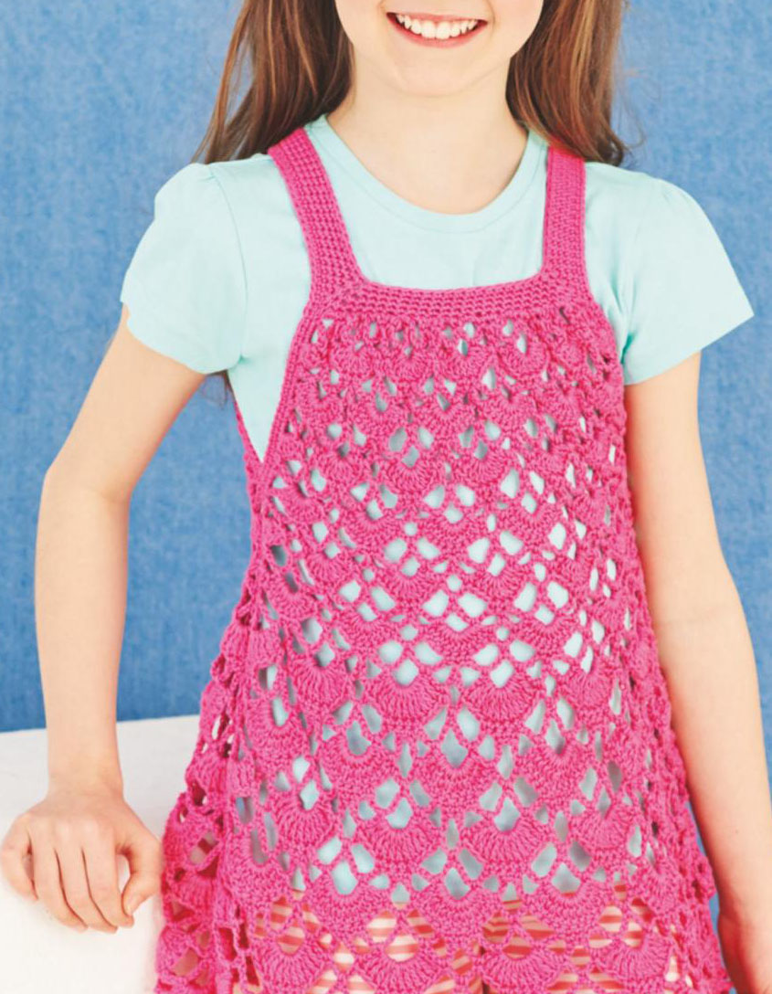 Girl Summer Dress Crochet Pattern