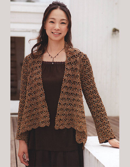 Free Jackets Crochet Patterns