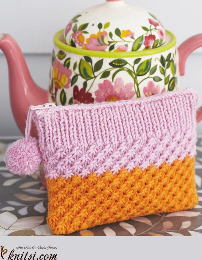 Little Coin Purse Knitting Pattern