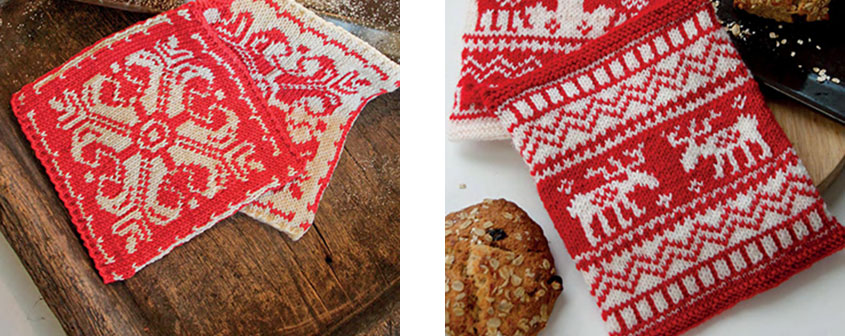 Christmas Potholders Knitting Patterns