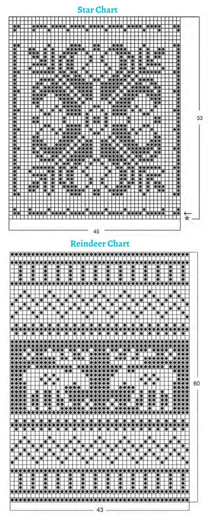 Christmas potholders knitting patterns