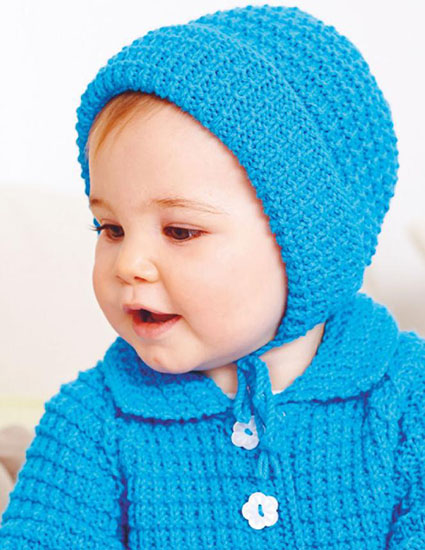 Bonnet knitting pattern free