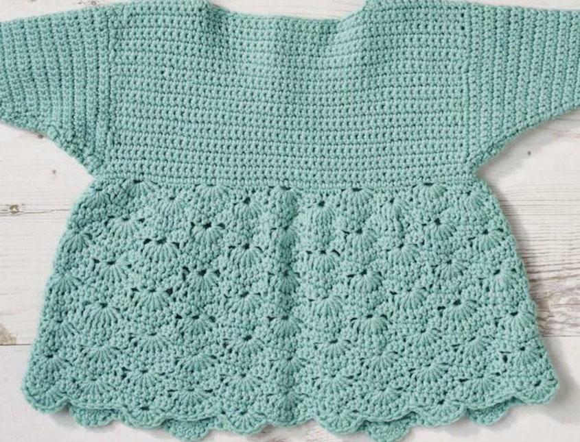 Baby Jacket Crochet Pattern