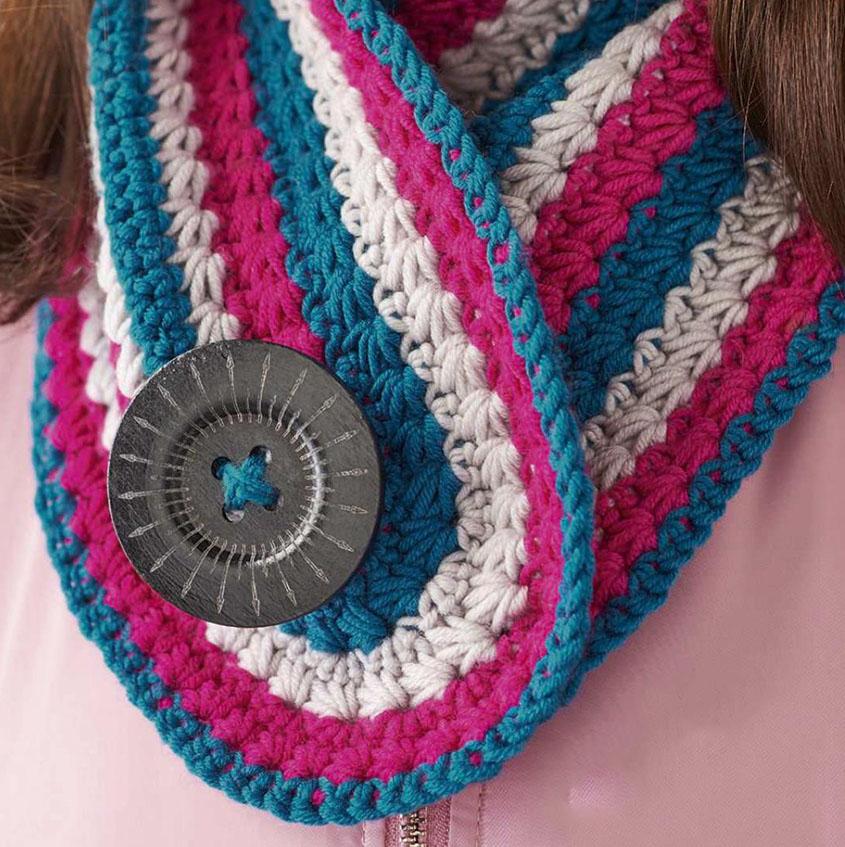 Striped Scarf Crochet Pattern