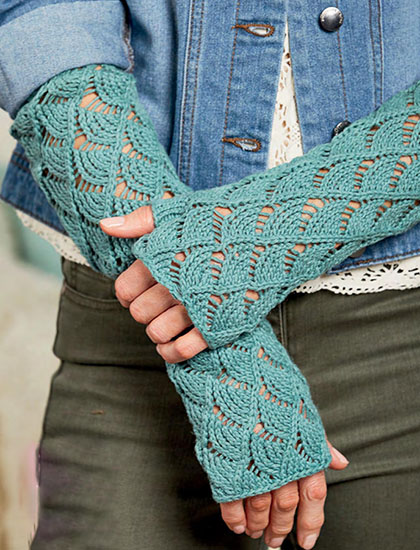 Gloves knitting pattern free