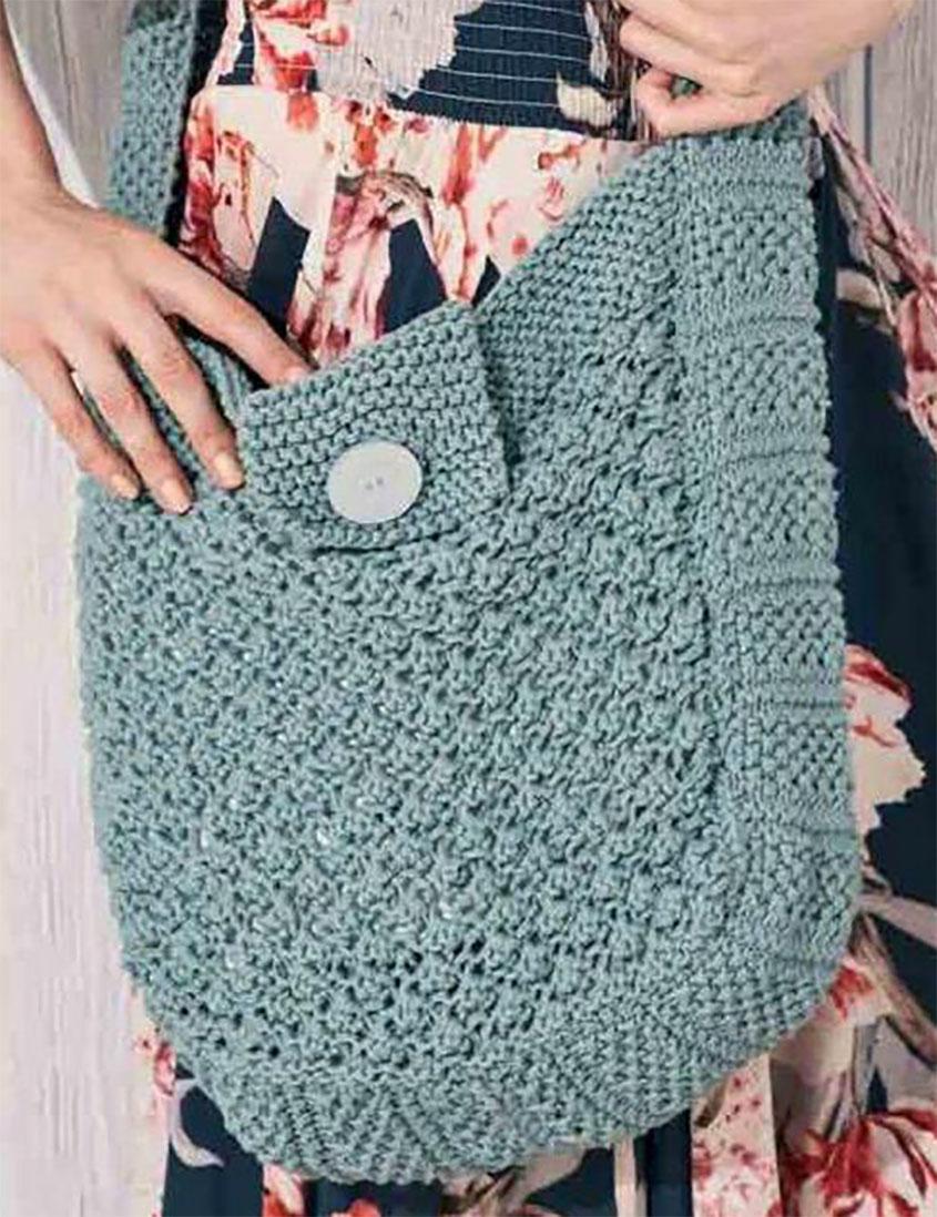 Shoulder bag knitting pattern