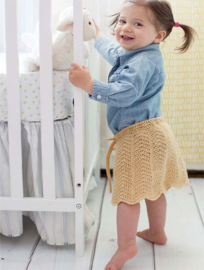 Skirt crochet pattern free