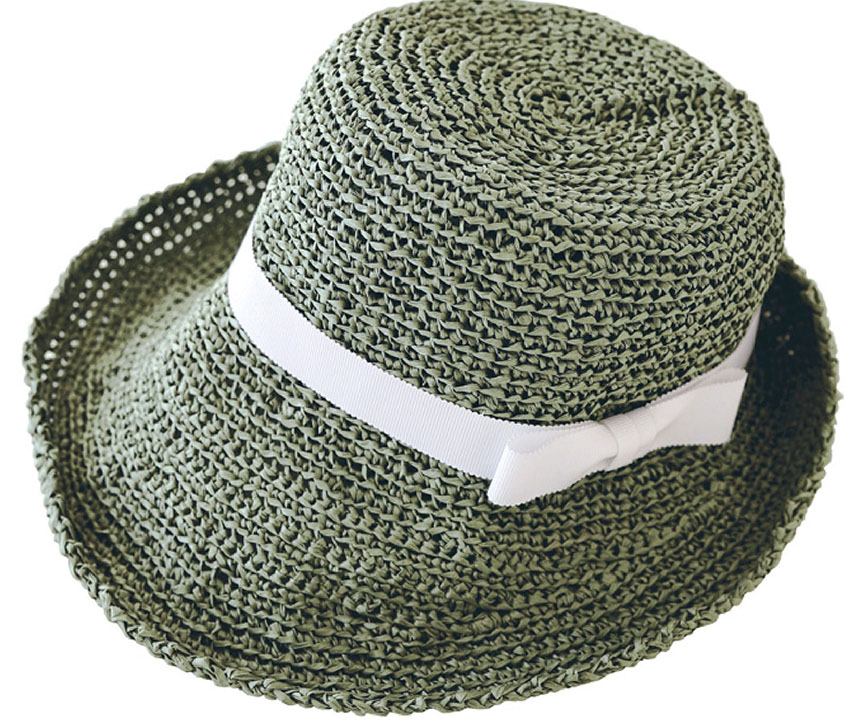 Straw Hat Crochet Pattern