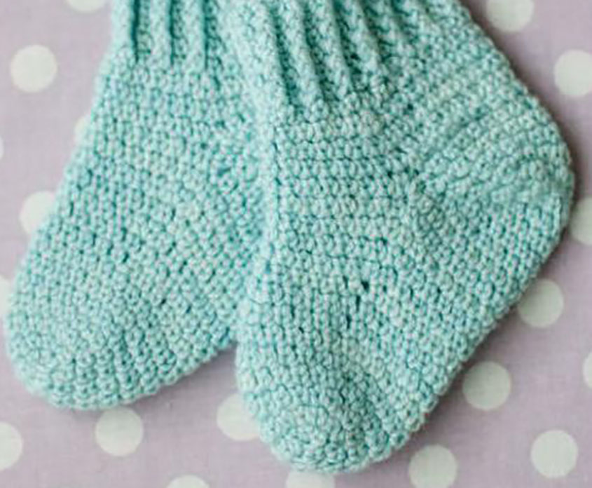 Baby Socks Crochet Pattern