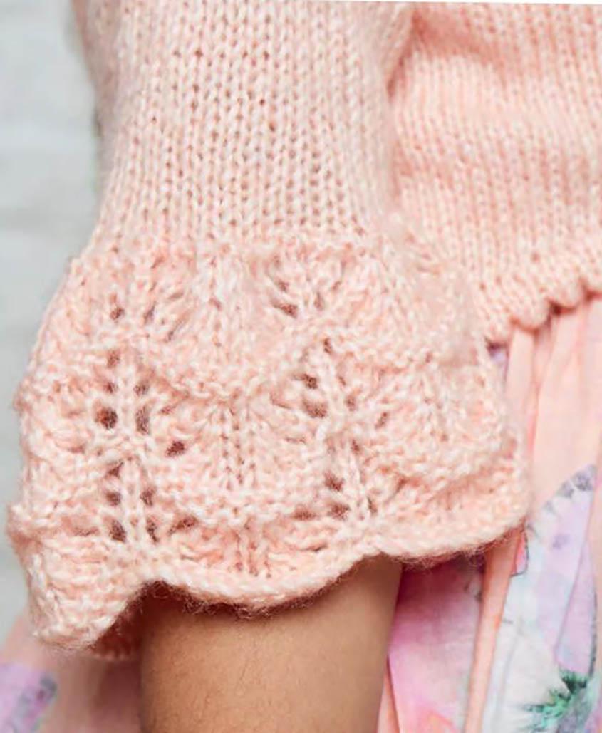 Free Knitting Pattern Yoke Cardigan