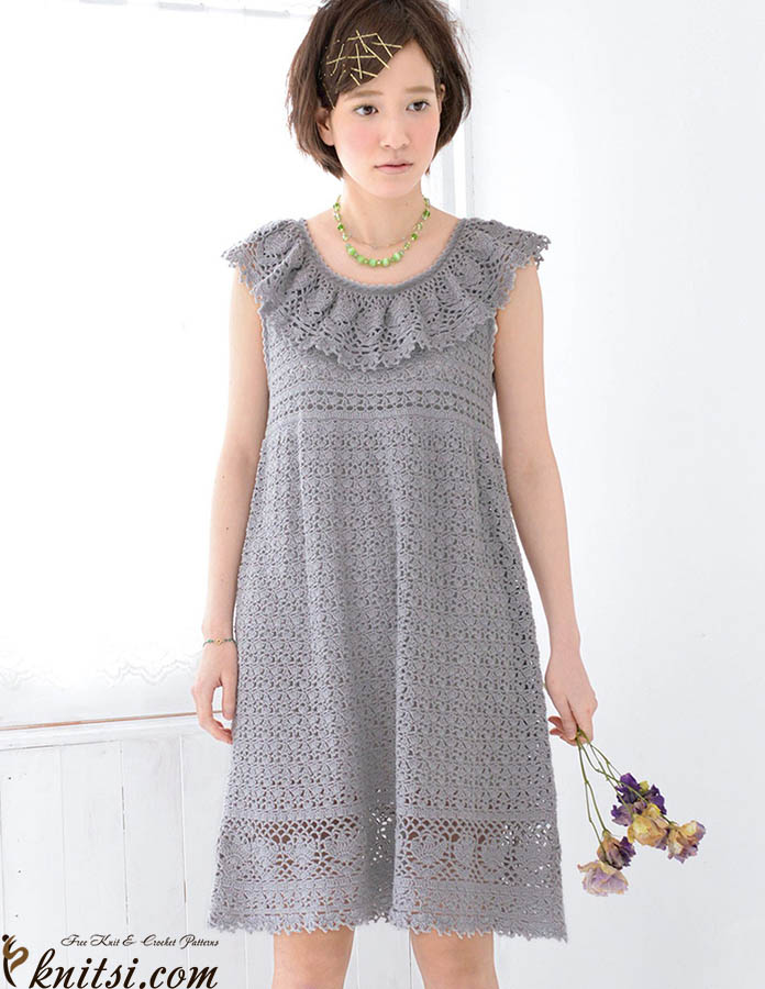 Free Crochet Dress Pattern For Women