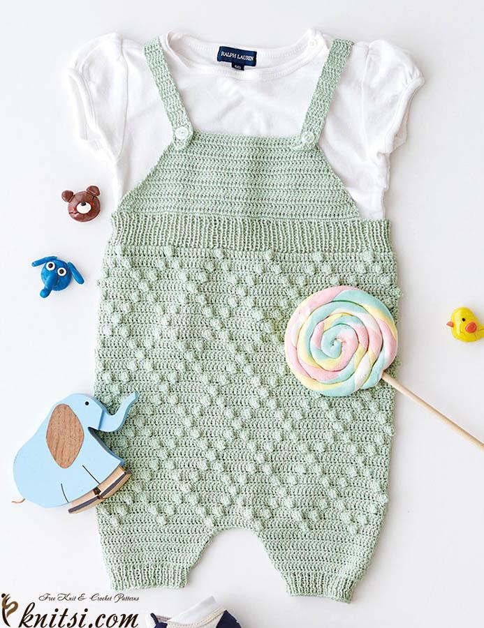 Free crochet pattern romper