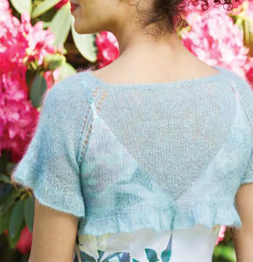 Shrug knitting pattern free