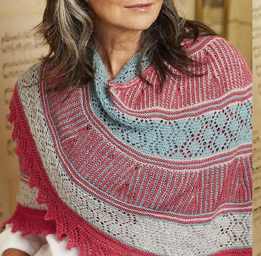 Free knitting pattern shawl