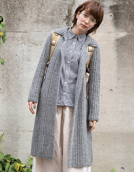 Free knitting pattern coat