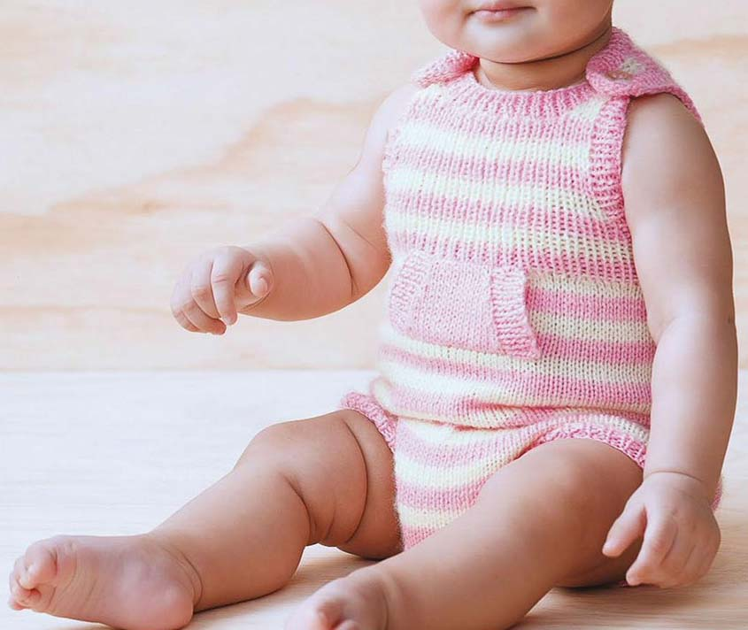 Romper knitting pattern free