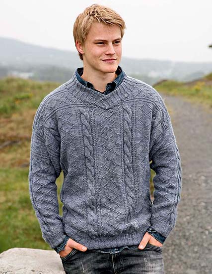 Free Pullovers Knitting And Crochet Patterns For Men