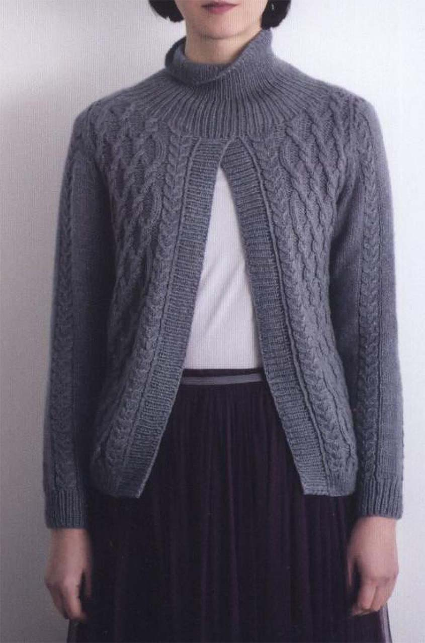 Aran sweater knitting pattern free