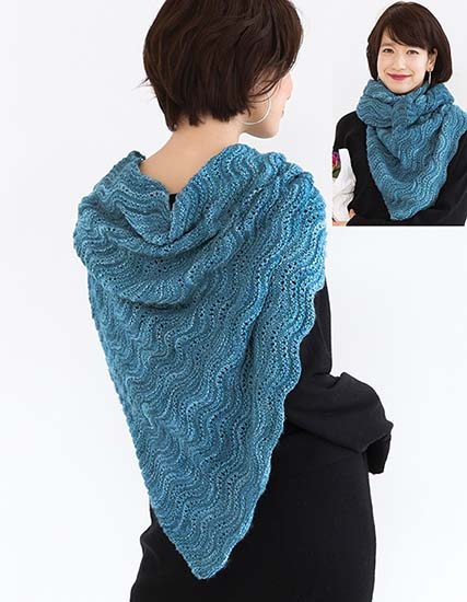 Free knitting pattern shawl