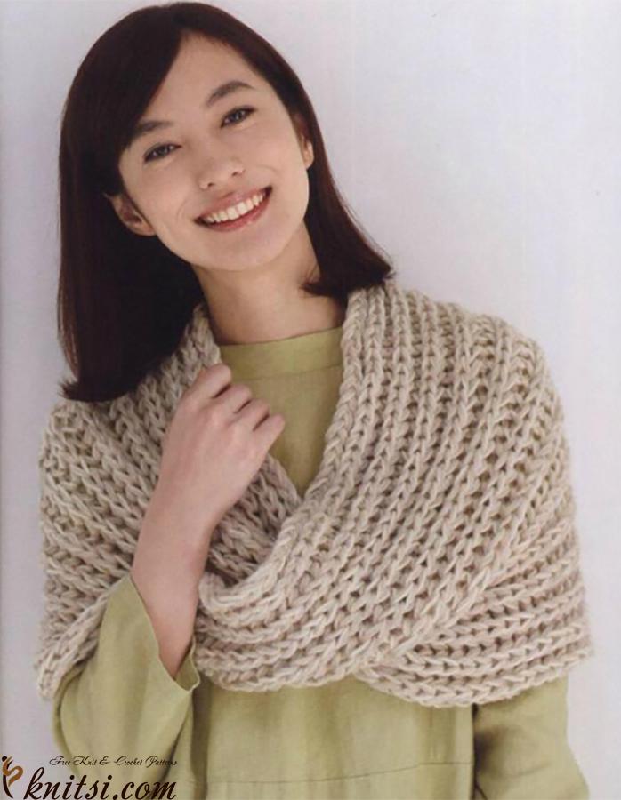Cowl knitting pattern free