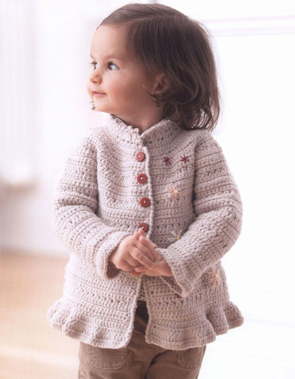 Free crochet pattern jacket