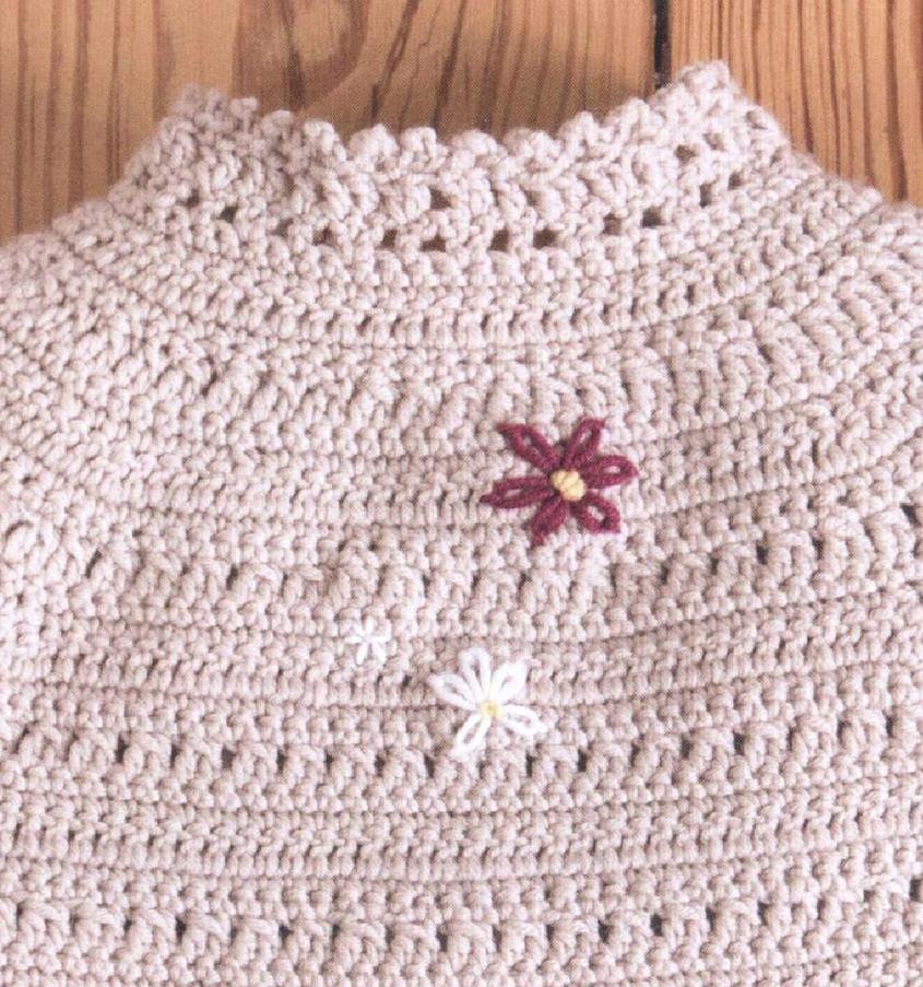 Baby Yoke Jacket Crochet Pattern Free