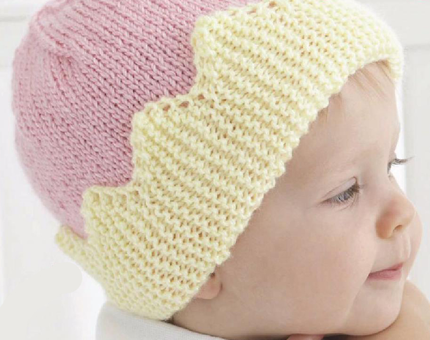 Hat for babies knitting pattern free