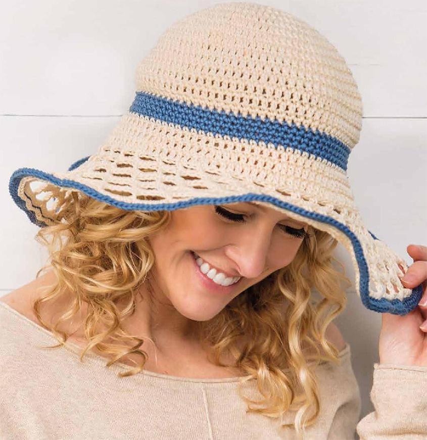 Sun Hat Crochet Pattern Free