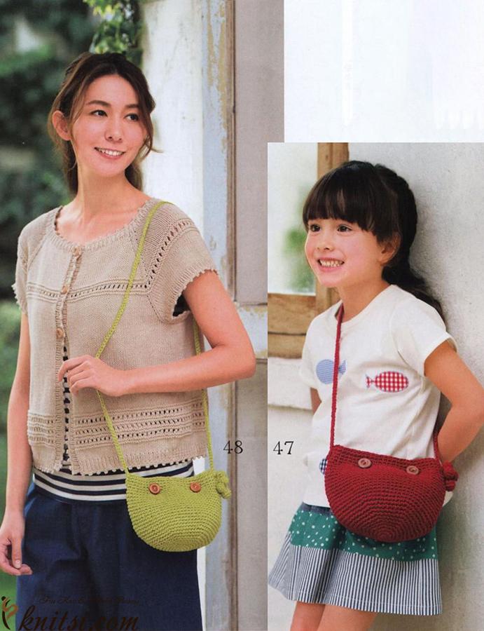 Free Crochet Bag Diagram