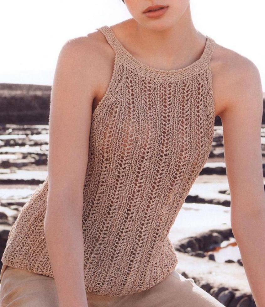Women\'s top knitting pattern free