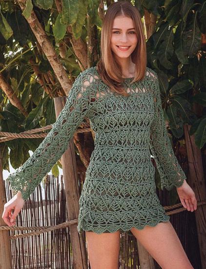Free Tunics And Dresses Crochet Patterns