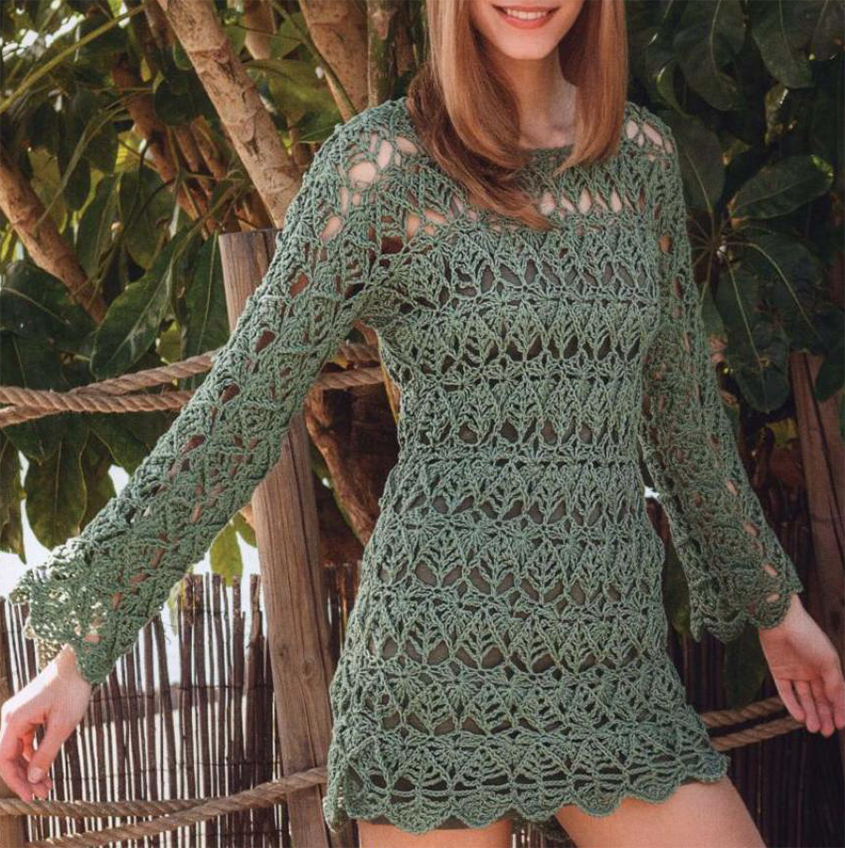 Lace Tunic Crochet Pattern Free