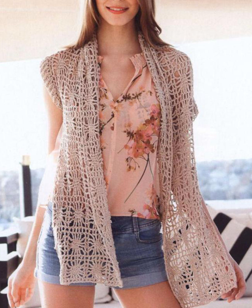 Summer Vest Crochet Pattern Free