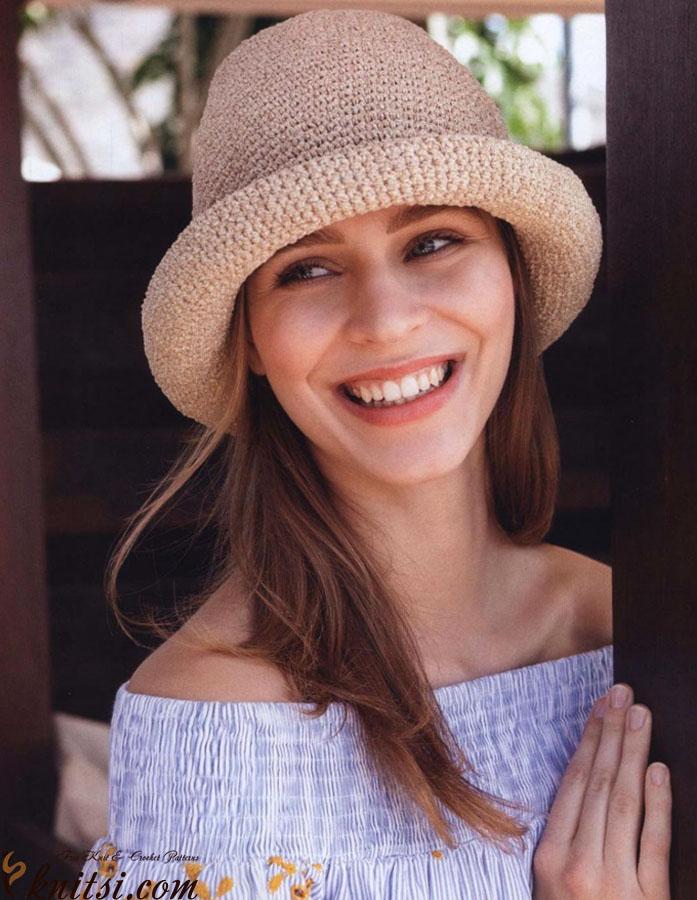 Summer Hat Crochet Pattern Free