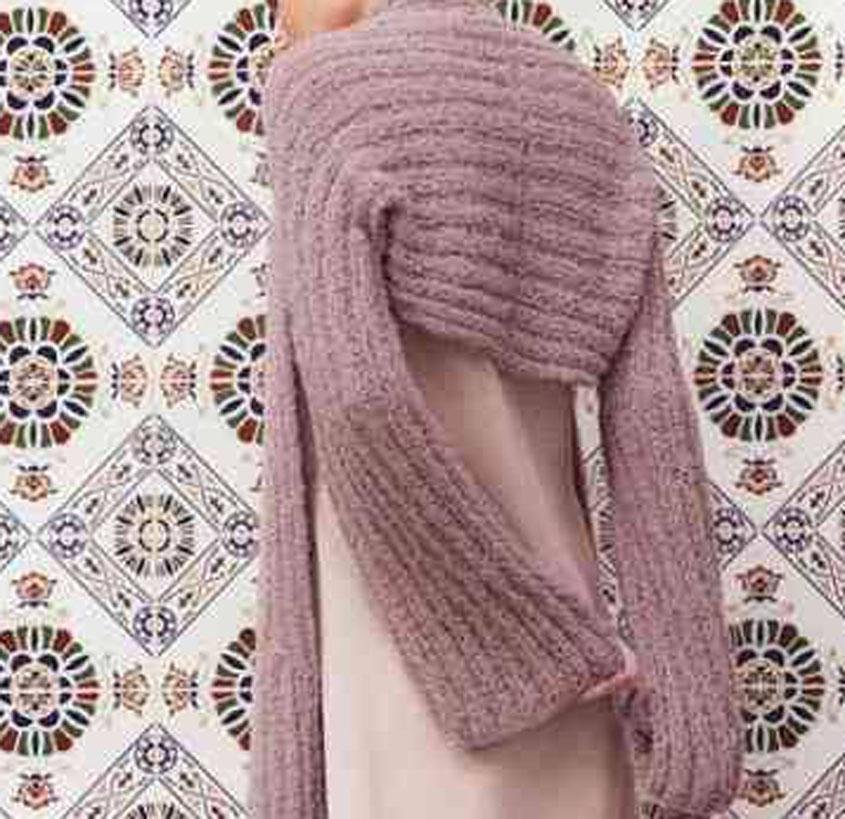 Free knitting pattern bolero