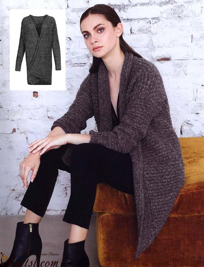 Long Jacket Knitting Pattern Free