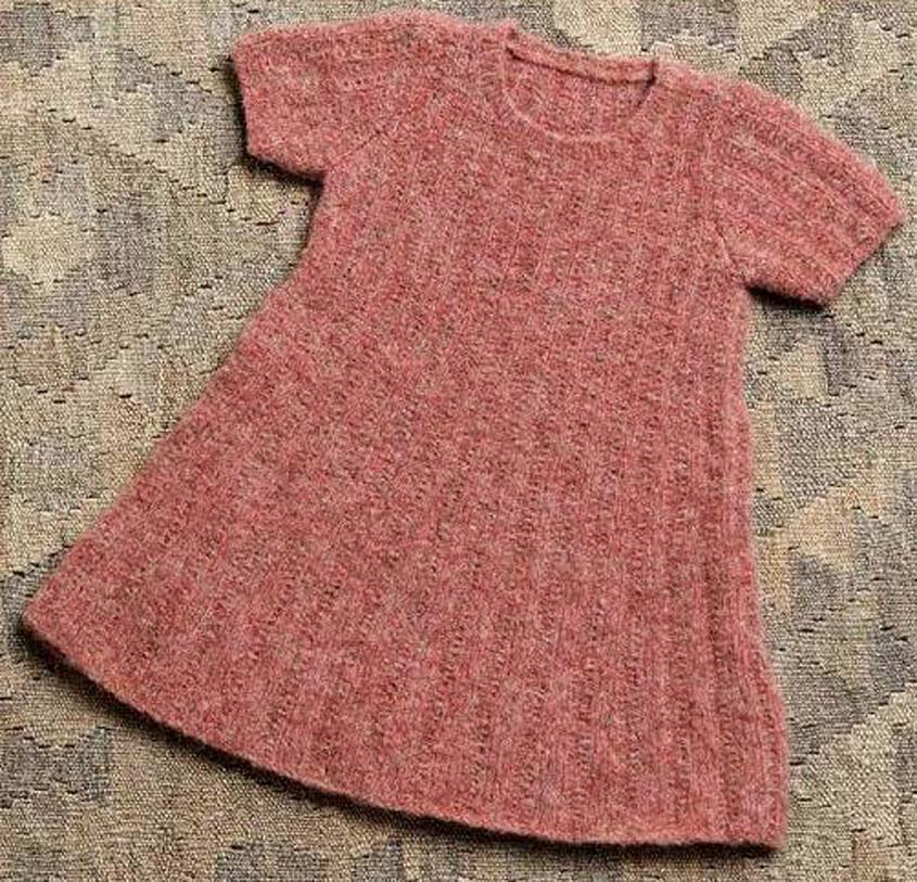 08c954649 Girl s dress knitting pattern free