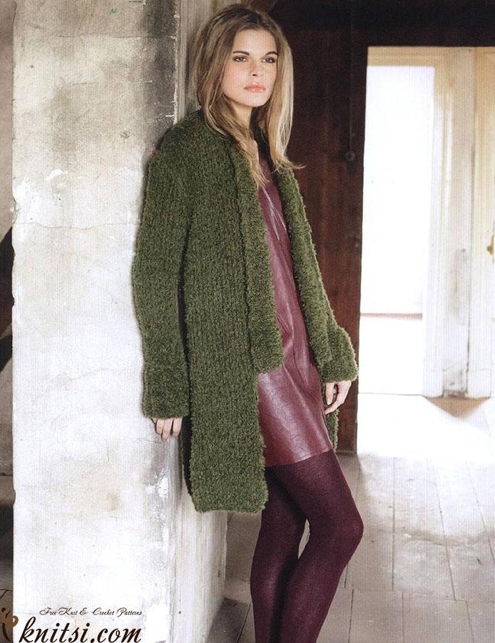 ce7d9a1633c398 Long cardigan knitting pattern free