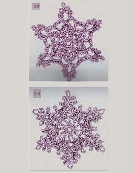 Snowflakes crochet patterns free