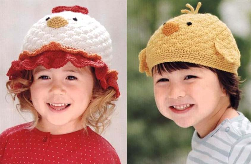 Baby Chicken Hat Free Crochet Diagram