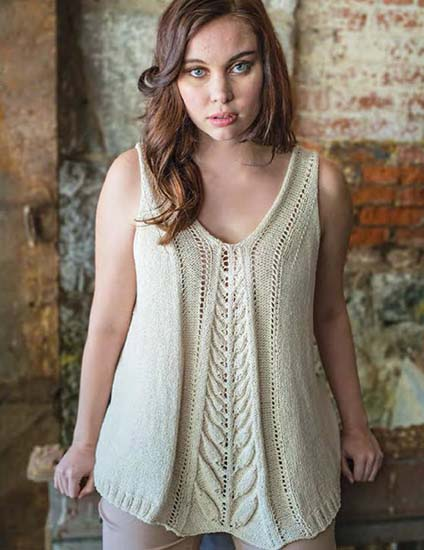Tank knitting pattern free