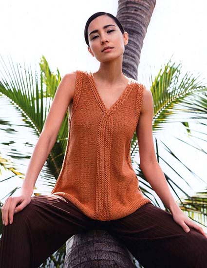 Top knitting pattern free